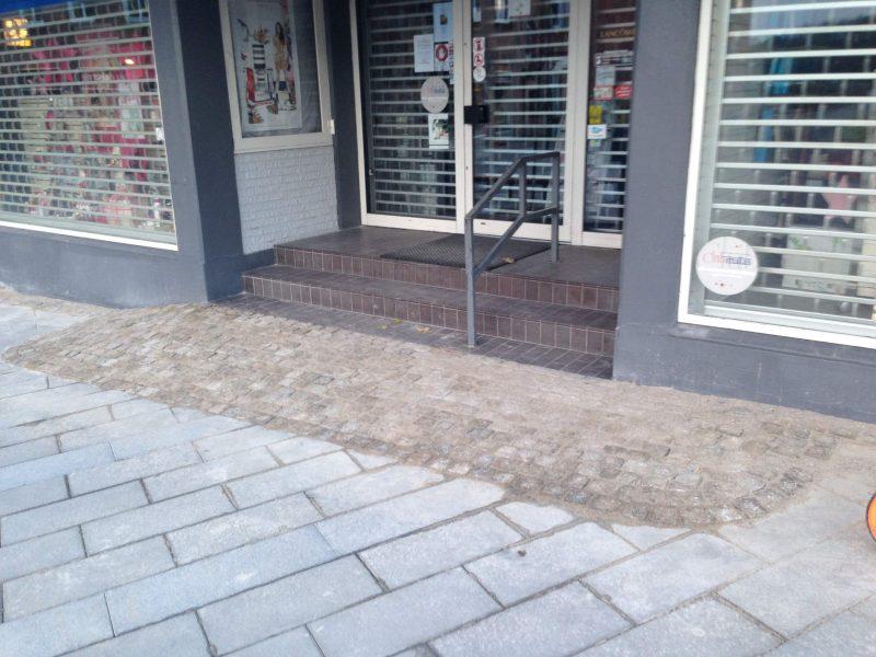 Hadstens Handelsstrøg, Søndergade, Belægning, 2013 (12)